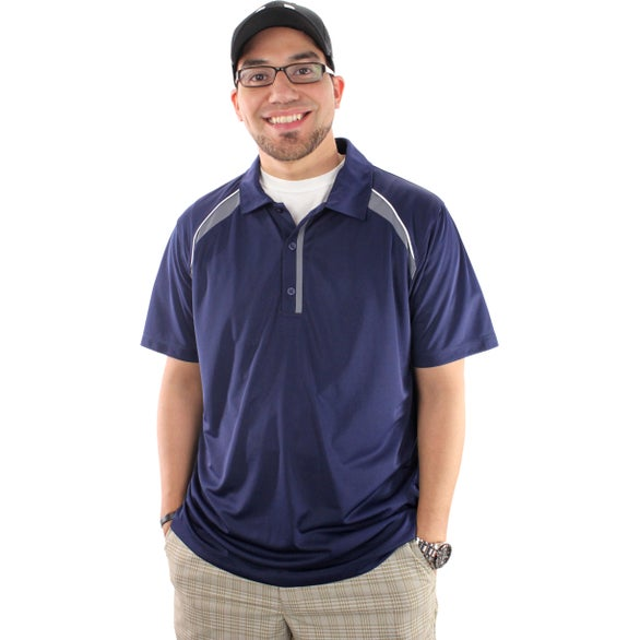 Promotional Men 39 S Quinn Short Sleeve Polo Shirt By