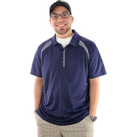 Personalized Quinn Short Sleeve Polo Shirt by TRIMARK