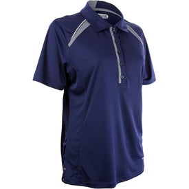 Logo Quinn Short Sleeve Polo Shirt by TRIMARK