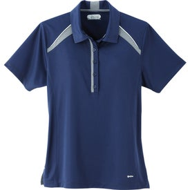 Printed Quinn Short Sleeve Polo Shirt by TRIMARK