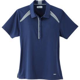 Printed Quinn Short Sleeve Polo Shirt by TRIMARK