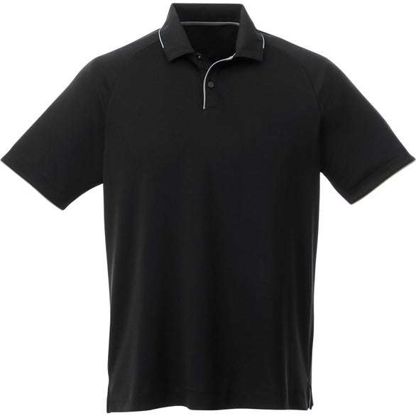Black / Quarry Remus SS Polo by TRIMARK
