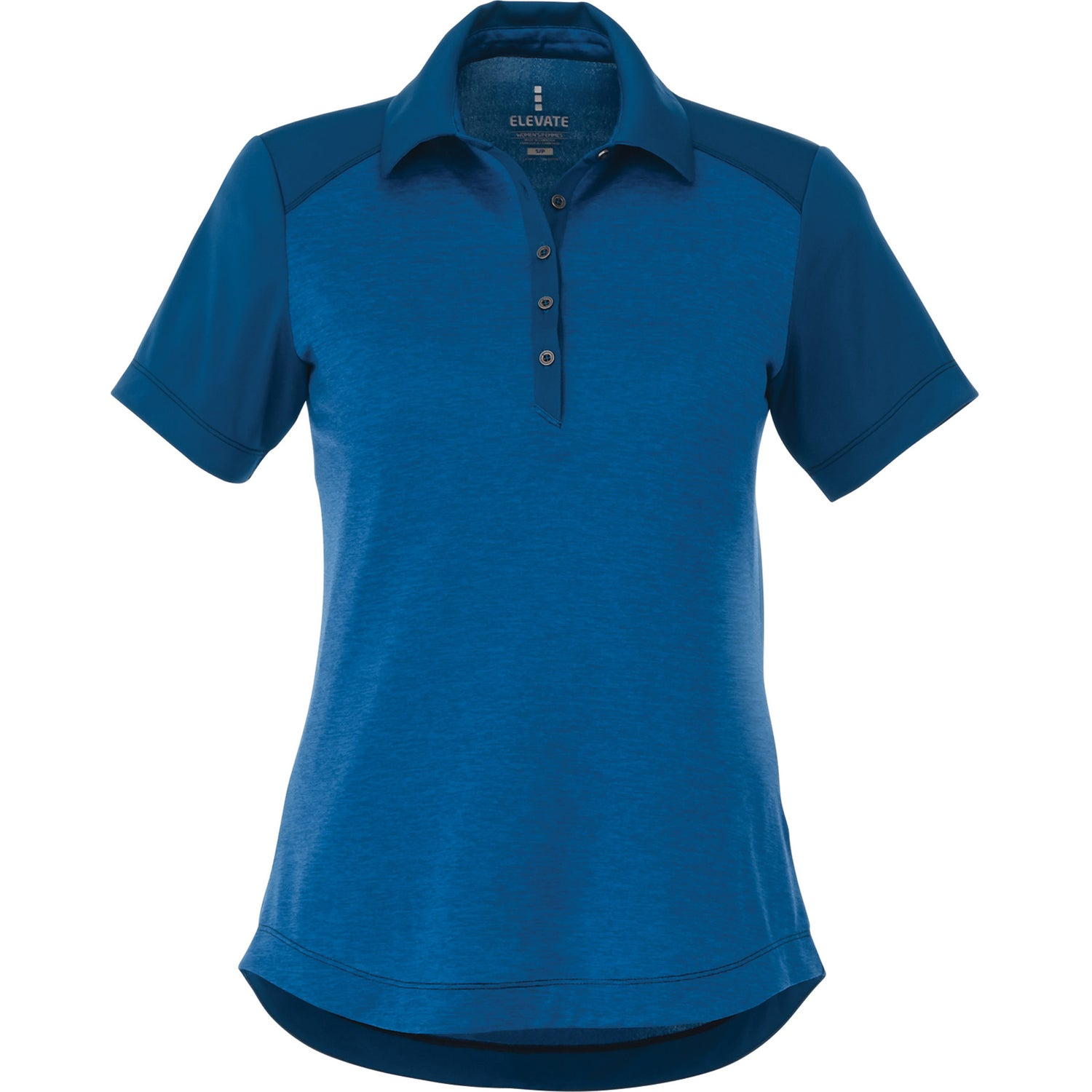 Promotional women 39 s sagano short sleeve polo shirt by for Custom embroidered polo shirts no minimum order