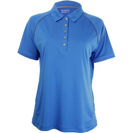 Printed Solway Short Sleeve Polo Shirt by TRIMARK