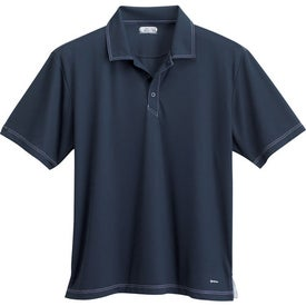 Tasman Triple Stitch Short Sleeve Polo Shirt by TRIMARK Giveaways