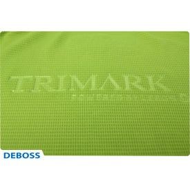 Tasman Triple Stitch Short Sleeve Polo Shirt by TRIMARK for Customization