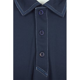 Printed Tasman Triple Stitch Short Sleeve Polo Shirt by TRIMARK