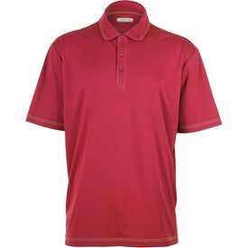 Branded Tasman Triple Stitch Short Sleeve Polo Shirt by TRIMARK
