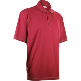 Tasman Triple Stitch Short Sleeve Polo Shirt by TRIMARK for Advertising