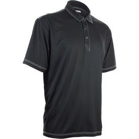 Logo Tasman Triple Stitch Short Sleeve Polo Shirt by TRIMARK