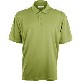 Monogrammed Tasman Triple Stitch Short Sleeve Polo Shirt by TRIMARK