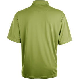 Promotional Tasman Triple Stitch Short Sleeve Polo Shirt by TRIMARK