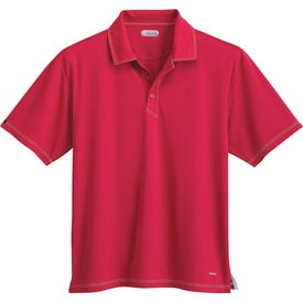 Tasman Triple Stitch Short Sleeve Polo Shirt by TRIMARK