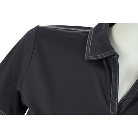 Printed Tasman Triple Stitch Short Sleeve Polo Shirt by TRIMARK