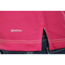 Customized Tasman Triple Stitch Short Sleeve Polo Shirt by TRIMARK