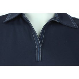 Tasman Triple Stitch Short Sleeve Polo Shirt by TRIMARK Branded with Your Logo