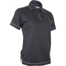 Imprinted Tasman Triple Stitch Short Sleeve Polo Shirt by TRIMARK