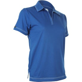 Tasman Triple Stitch Short Sleeve Polo Shirt by TRIMARK for Advertising