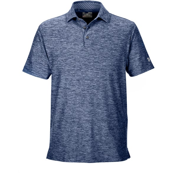 Academy Blue Under Armour Playoff Polo