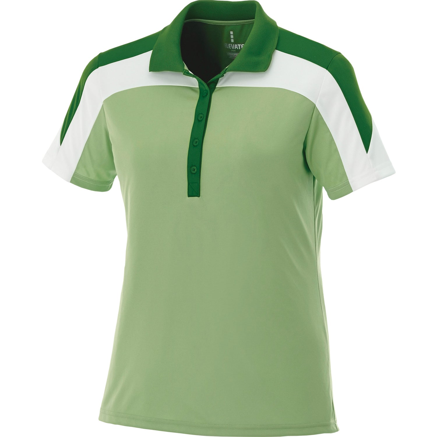 Vesta short sleeve polo shirt by trimark women 39 s for Quality polo shirts with company logo