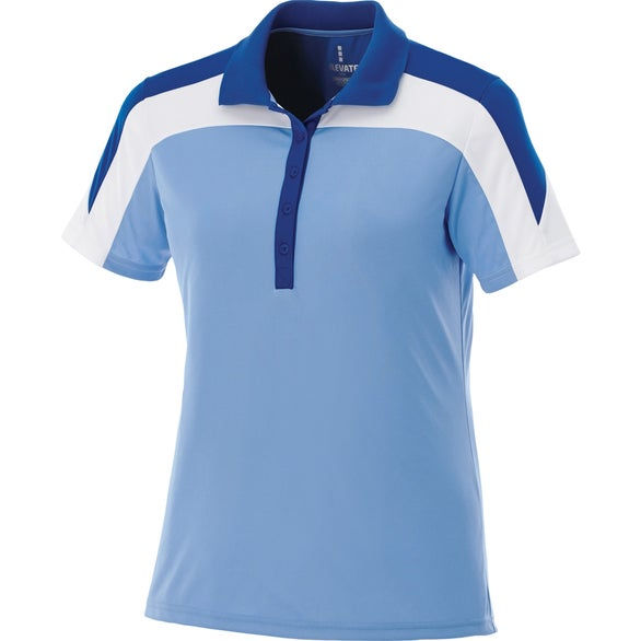 Promotional vesta short sleeve polo shirt by trimarks with for Custom logo t shirts no minimum