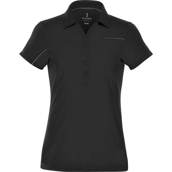Black Wilcox Short Sleeve Polo by TRIMARK