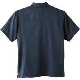 Yabelo Hybrid Short Sleeve Polo Shirt by TRIMARK for Customization