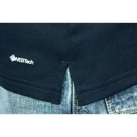 Branded Yabelo Hybrid Short Sleeve Polo Shirt by TRIMARK