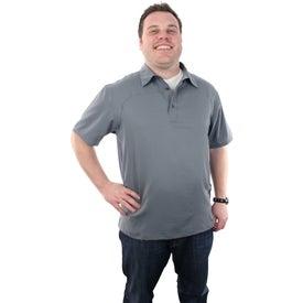 Yabelo Hybrid Short Sleeve Polo Shirt by TRIMARK for Marketing