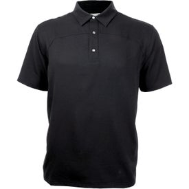 Logo Yabelo Hybrid Short Sleeve Polo Shirt by TRIMARK
