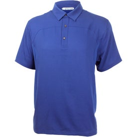 Yabelo Hybrid Short Sleeve Polo Shirt by TRIMARK for Advertising