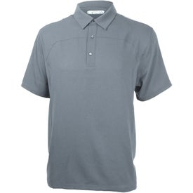 Monogrammed Yabelo Hybrid Short Sleeve Polo Shirt by TRIMARK