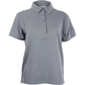 Yabelo Hybrid Short Sleeve Polo Shirt by TRIMARK Imprinted with Your Logo