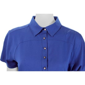Yabelo Hybrid Short Sleeve Polo Shirt by TRIMARK Branded with Your Logo