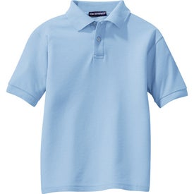 Port Authority Youth Silk Touch Sport Shirt