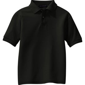 Port Authority Youth Silk Touch Sport Shirt for Advertising
