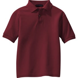 Company Port Authority Youth Silk Touch Sport Shirt