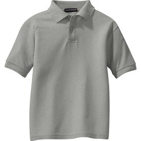 Custom Port Authority Youth Silk Touch Sport Shirt
