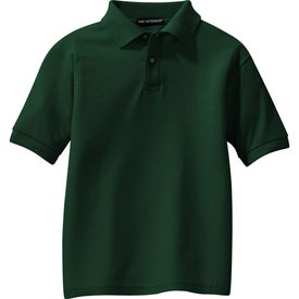 Personalized Port Authority Youth Silk Touch Sport Shirt