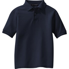 Port Authority Youth Silk Touch Sport Shirt for Marketing