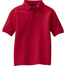 Port Authority Youth Silk Touch Sport Shirt Imprinted with Your Logo