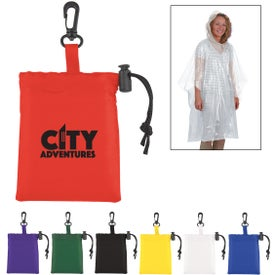 Sleeved Poncho in Pouch (Unisex)