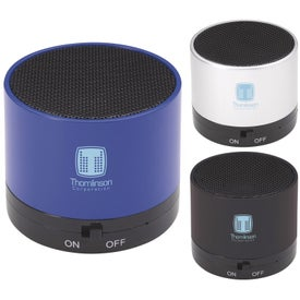 Let the Beat Rock Bluetooth Speakers (300 mAh)