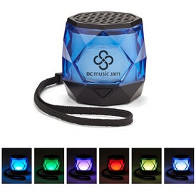 Mini Colorful Diamond Wireless Speaker (200 mAh)