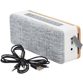 RoxBox Newport Bluetooth Speaker (Wood)