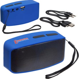 Sonic Sound Bluetooth Speaker with FM Radio and Mic