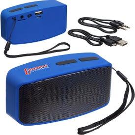 Sonic Sound Bluetooth Speaker with FM Radio and Mic