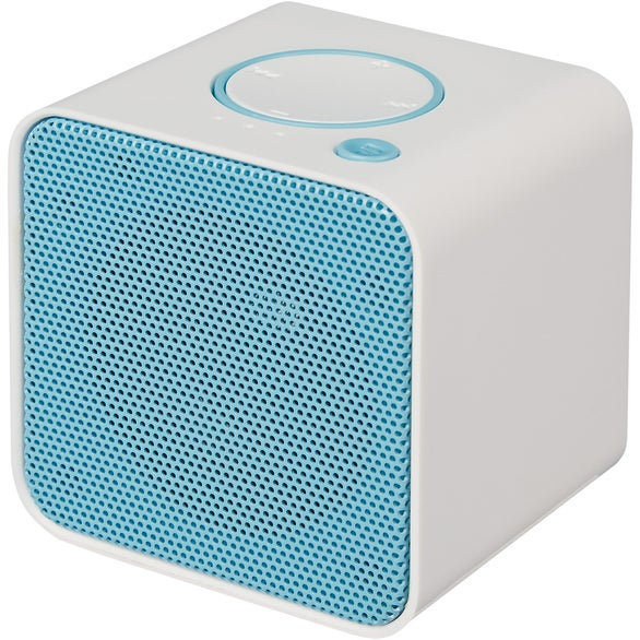 White / Blue Vibrant Wireless Speaker