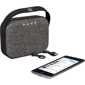 Woven Fabric Bluetooth Speaker (1800 mAh)