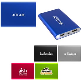 Big Tablet Power Bank (8000 mAh, UL Listed)